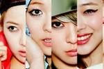 20年韩国女团妆容进化史 少女时代以前长这样