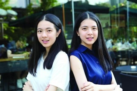 东莞学霸双胞胎姐妹:两姐妹衣服一直轮流穿