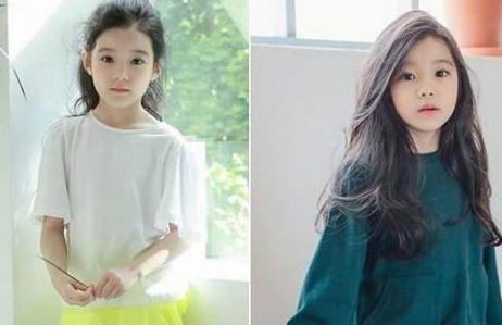 韩8岁女孩被称最美女童 中国家长们不服了